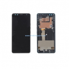 HTC U12 Plus LCD Screen Display Touch Screen Digitizer Assembly with Bezel