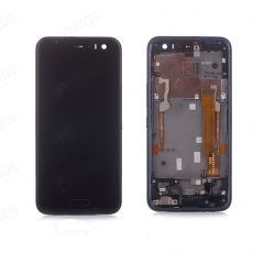 HTC U11 Life LCD Display Touch Screen Digitizer Assembly with Bezel 80H02119-00  / 80H02119-01  / 80H02119-03  / 80H02119-04